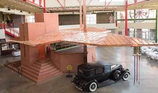 90 Years Later, Frank Lloyd Wright's Fuel Station Finally Built in Buffalo, NY
