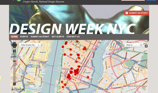 Cooper-Hewitt Launches New Online Guide to Design Week NYC