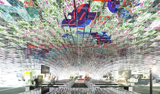 Gert Wingårdh's stunning installation at this week's Stockholm Furniture Fair