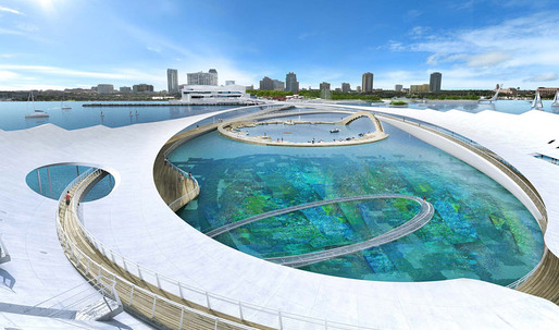 Scientists propose more realistic vision for Michael Maltzan's pier's underwater garden