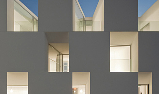 Houses for elderly people in Alcácer do Sal by Aires Mateus Arquitectos