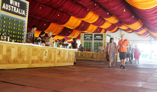 """The Architecture of the Great GoogaMooga: David Rockwell Dishes on the Food Festival's """"Carny"""" Design"""