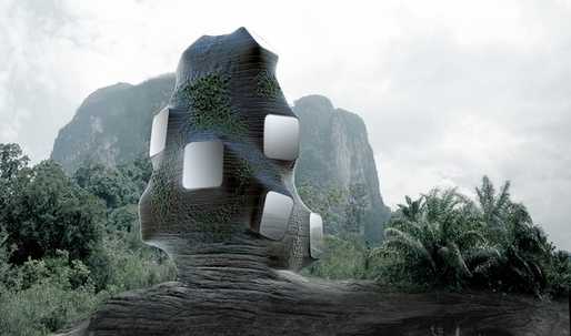 MMYST: a crowd-funded, human-animal hybrid building by François Roche and Camille Lacadee of New-Territories/M4