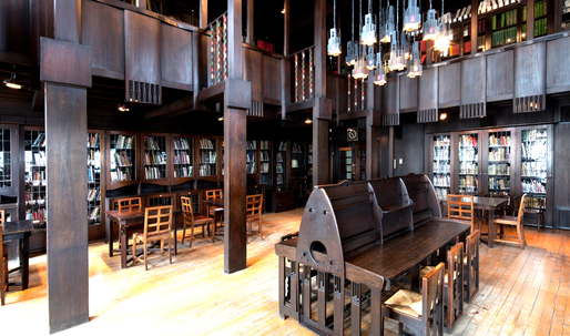 The architects trying to restore Mackintosh's Library to its former glory