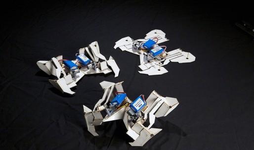 Self-Folding Robot Based on Origami