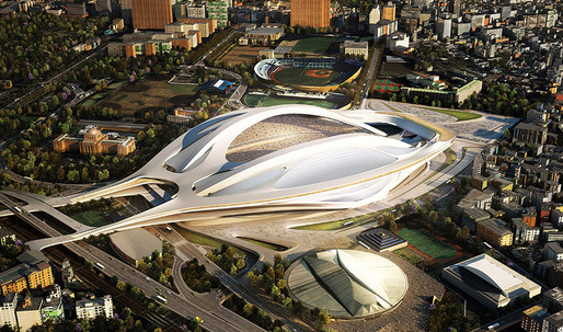 Zaha Hadid Wins Japan National Stadium Design Competition
