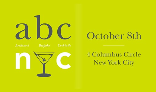 Join Archinect and Bespoke for abc/nyc - A Celebration of Architecture and Archtober, October 8th!