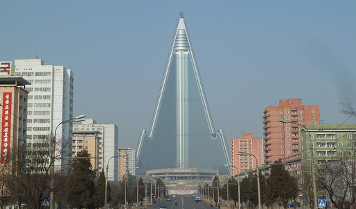 Is Pyongyang's eccentric architecture only skin deep?