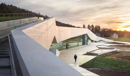 Check out Lascaux IV: The International Centre for Cave Art designed by Snøhetta and Casson Mann