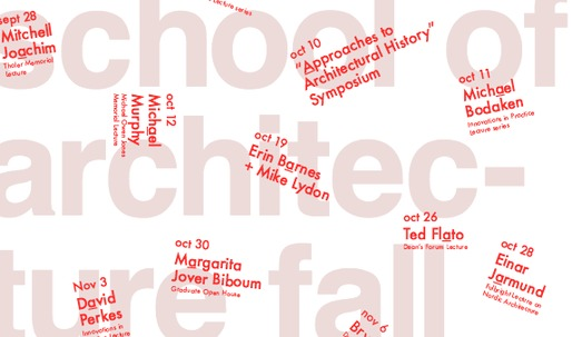Get Lectured: University of Virginia, Fall '15