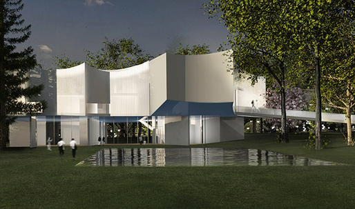 """Steven Holl designs """"concave response"""" lighting for new visual arts building"""