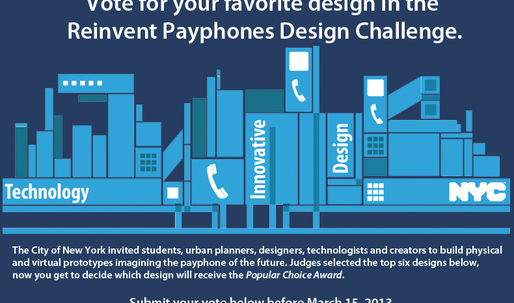 City of New York Announces Reinvent Payphones Finalists