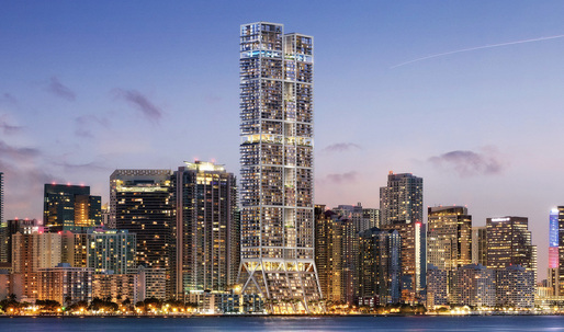 Miami's new 'The Towers by Foster + Partners' slated to be tallest in the city