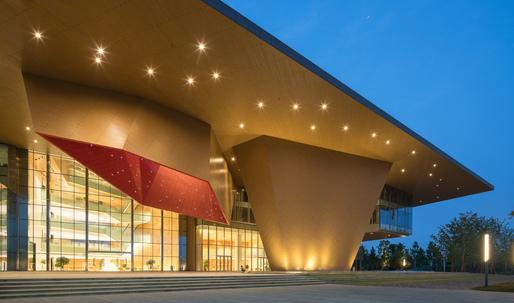 "The ""tectonic bravery"" of NBBJs Nanjing Eco-Tech Exhibition Centre"