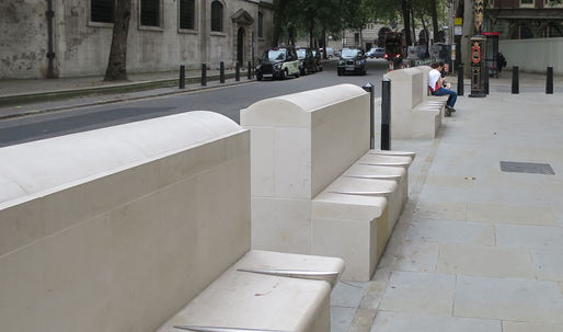 "Amid London's austerity measures, ""defensive design"" becomes even more hostile"