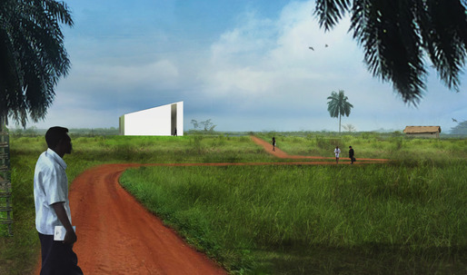 The OMA-designed Lusanga International Research Centre on Art and Economic Inequality aims to expose and redress economic inequalities