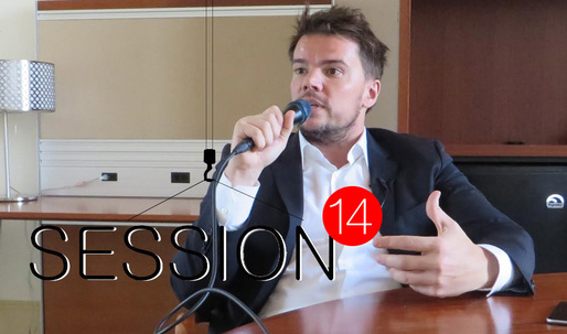 "Session 14: His bjark is BIGger than his bjite – A chat with Bjarke Ingels at the opening of BIGs ""Hot to Cold"" exhibition"
