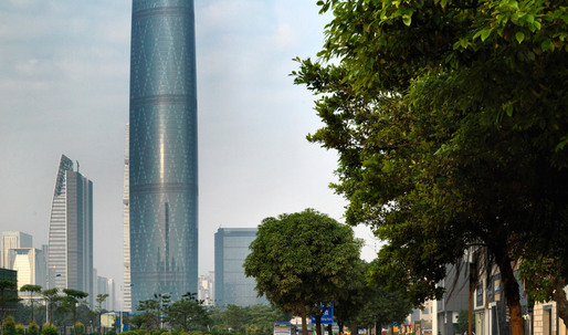 Guangzhou International Finance Center Wins 2012 RIBA Lubetkin Prize