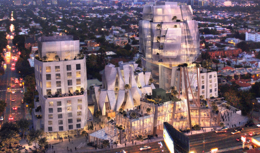 Frank Gehry's Sunset Strip mixed-user unanimously approved by L.A. City Council