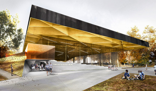 Saucier + Perrotte / Hughes Condon Marler Architects Win Indoor Soccer Center Competition in Montreal