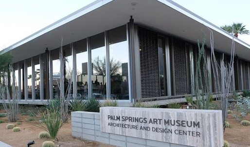 Palm Springs Art Museum A+D Center draws hundreds