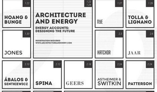 Get Lectured: PennDesign, Spring 14