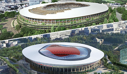 Kengo Kuma & Toyo Ito rumored to be designers behind new Tokyo Olympic Stadium proposals