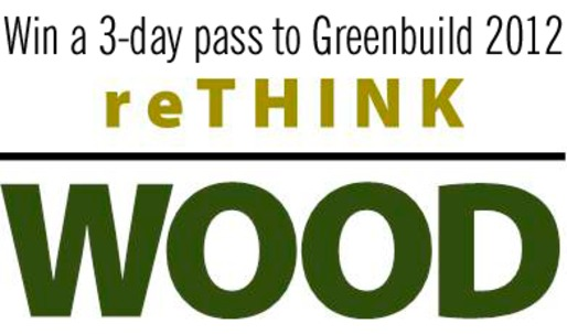 Were giving away a 3-day pass to Greenbuild! Winner will be selected later today.