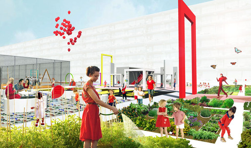 """BOARD wins the Second Prize in the """"Krajicek Playground Competition"""""""