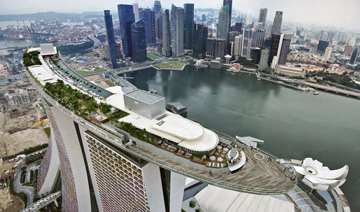 Safdie's Marina Bay Sands opens in Singapore