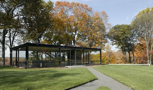 Johnson's Glass House re-opens to self-guided tours