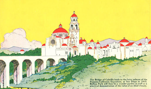 "LA's Mike the Poet looks back on San Diego's ""Spanish Magic"" architecture"