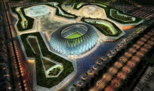 """Desert sands, soccer, sustainability and """"symbolic capital""""..."""