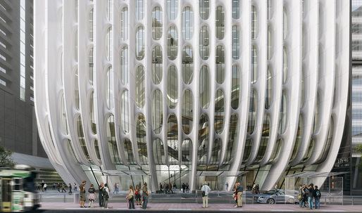 "Tour Zaha Hadid's ""stacked vases"" tower in Australia"