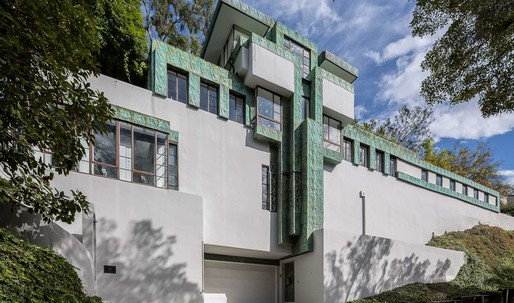 Lloyd Wright's LA Samuel-Novarro House for sale