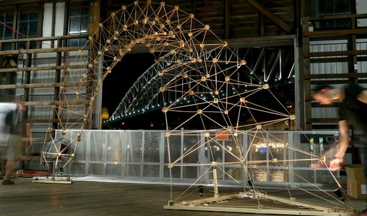 ACADIAs Wooden Structures workshop takes a hack at automated fabrication of multi-species structures