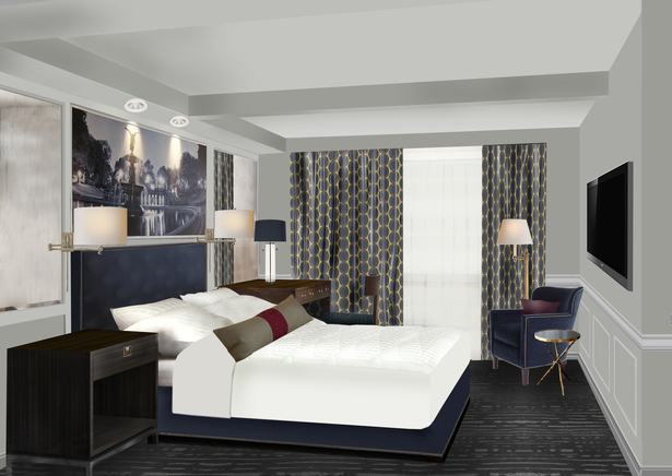 Model Bedroom Rendering