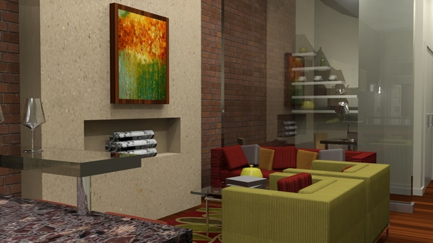 Urban eco-village living area (private living space)