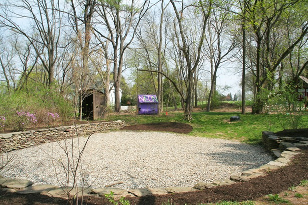 Outdoor Classroom over concealed water retention basin