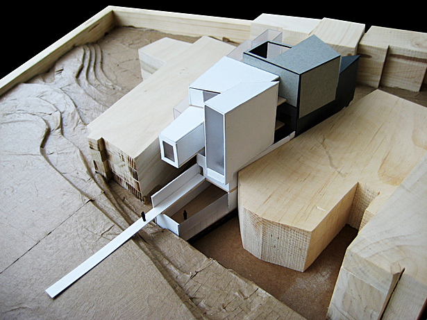 final model view from northwest