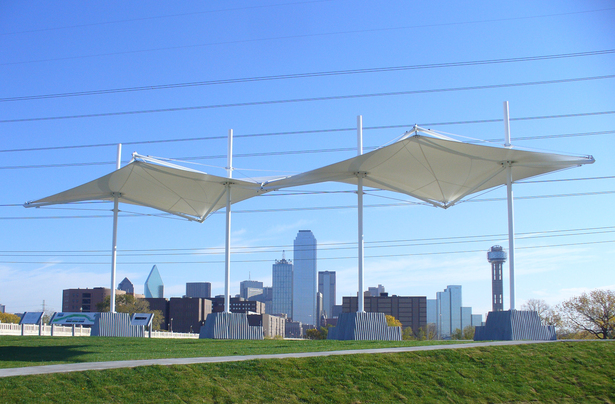 Trinity River Overlook Shade Structure