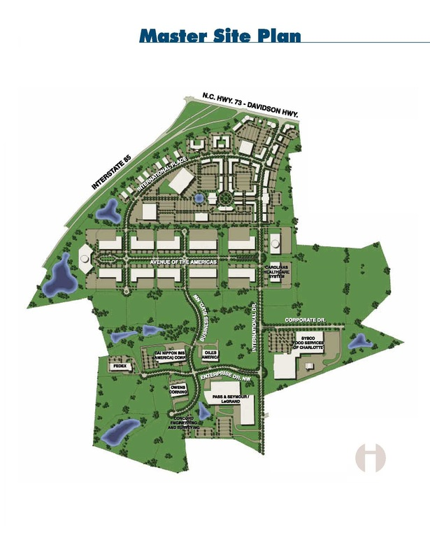 THE INTERNATIONAL BUSINESS PARK - Master Plan