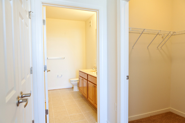 View of Bathroom / W.I.C.