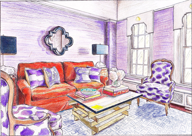 Lilly Bunn Inc Living Room