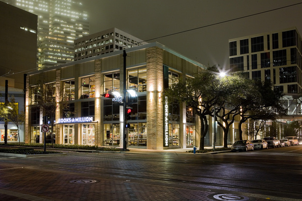 Houston Pavilions Books-A-Million Exterior (Environmental Graphics)