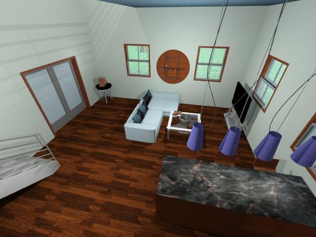 Aerial Interior House of Current Project - 3DS Max (to be animated)