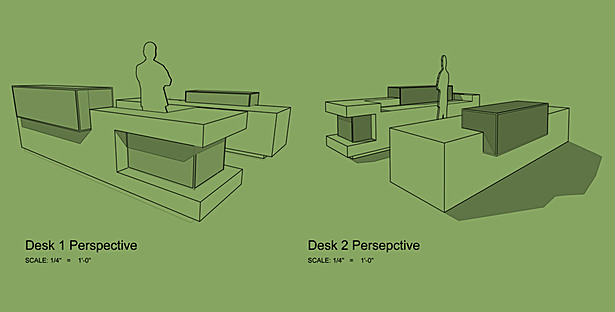Reception Desk Perspectives