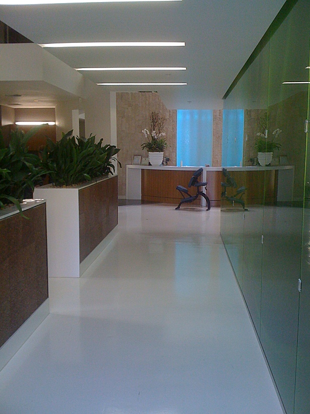 Entry to front desk