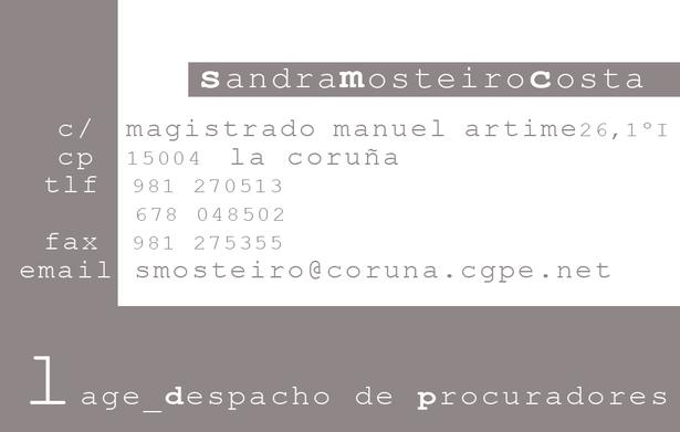 Sandra Mosteiro