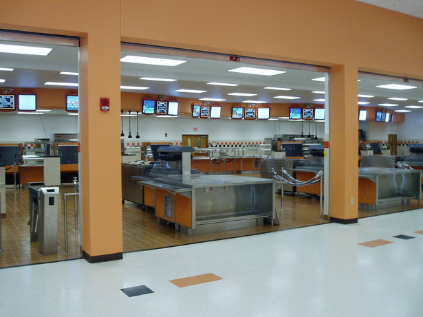 School Cafeteria Kitchen ~ New cafeteria and kitchen luis acosta archinect